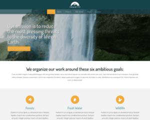 Goede doelen WordPress Thema