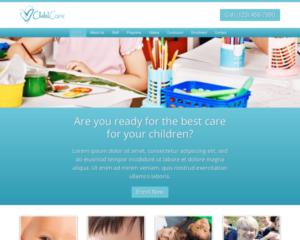 Kinderopvang WordPress Thema