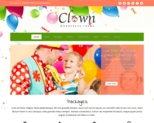 Clown WordPress Thema