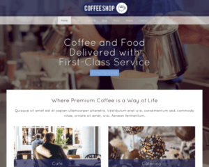 Cafe WordPress Thema