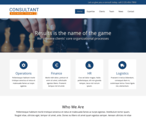 Consultant WordPress Thema