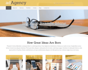 Advertentiebureau WordPress Thema