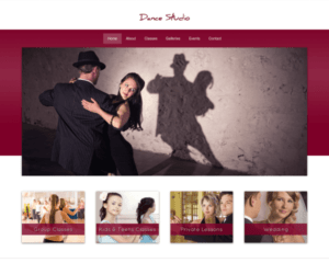 Dansstudio WordPress Thema