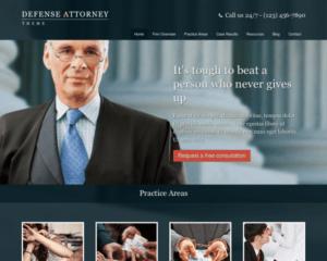 Advocaat WordPress Thema