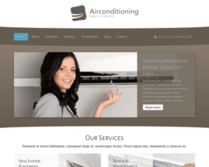 Airconditioning WordPress Thema