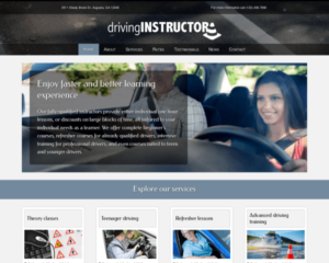 Rij-instructeur WordPress Thema