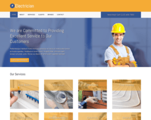 Electricien WordPress Thema