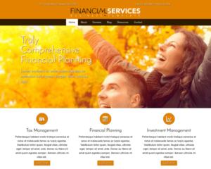 Financiële dienstverlener WordPress Thema