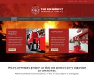 Brandweer WordPress Thema