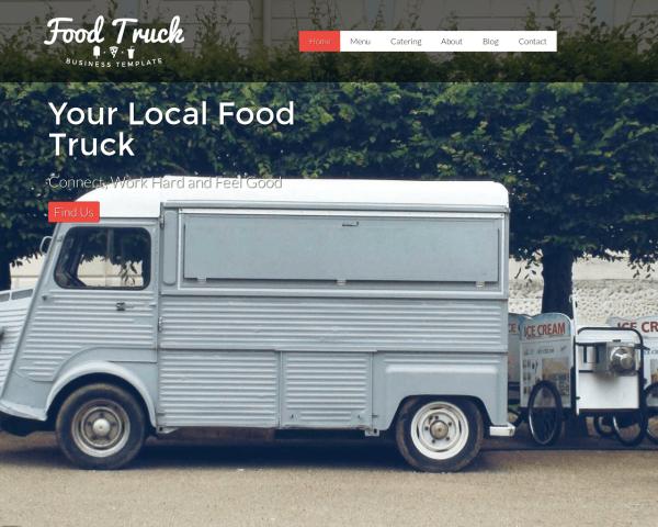 Foodtruck WordPress Thema