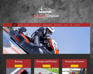 Karting WordPress Thema