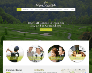 Golf WordPress Thema