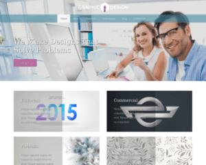 Grafisch ontwerp WordPress Thema