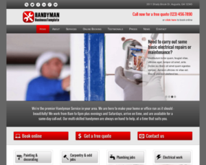 Klusjesman WordPress Thema