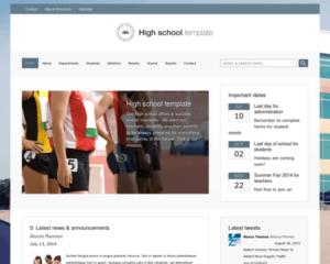 Hogeschool WordPress Thema