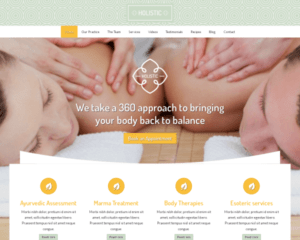 Holistisch WordPress Thema