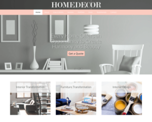 Huis decoratie WordPress Thema