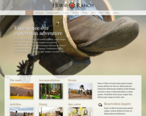 Paardenranch WordPress Thema