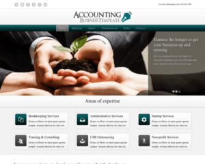 Accounting wordpress thema