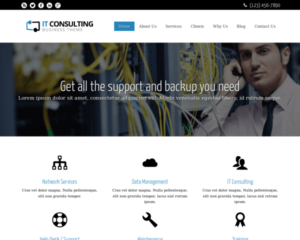 IT consultancy WordPress Thema