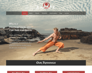 Karate WordPress Thema