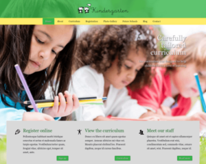 Kleuterschool WordPress Thema