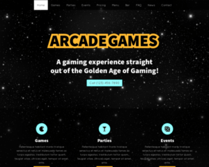 Arcade WordPress Thema