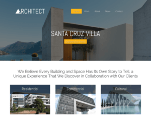 architect WordPress Thema