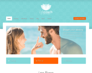 Life coach WordPress Thema