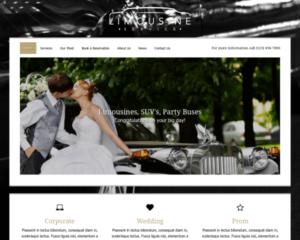Limousine verhuur WordPress Thema