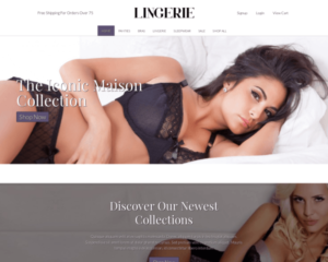Lingerie WordPress Thema
