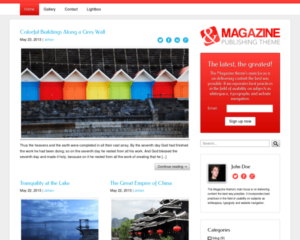 Magazine WordPress Thema