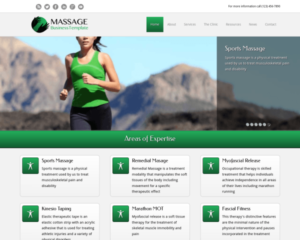 Massage WordPress Thema