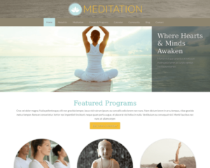 Meditatie WordPress Thema