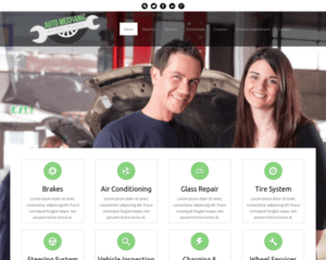 Automonteur WordPress Thema