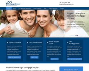 Hypotheek adviseur WordPress Thema