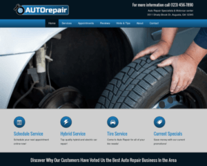 Auto reparatie WordPress Thema