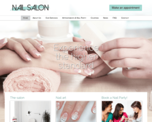 Nagelstudio WordPress Thema