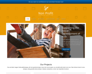 Non-profit WordPress Thema