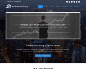 Online marketing WordPress Thema