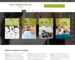 Opticien WordPress Thema