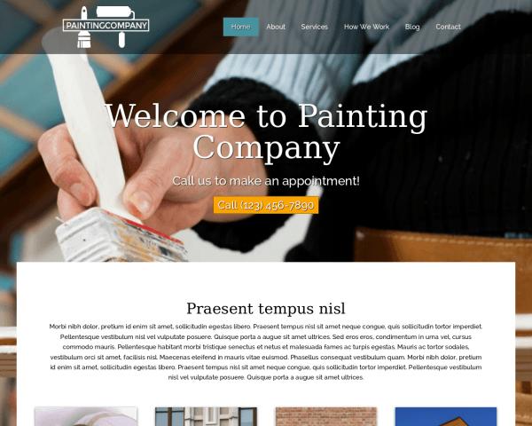 Schildersbedrijf WordPress Thema