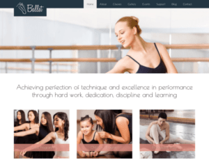 Ballet WordPress Thema