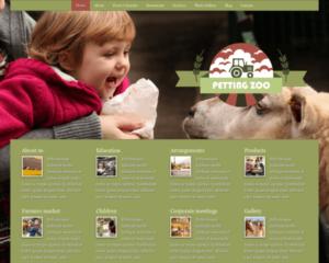 Kinderboerderij WordPress Thema