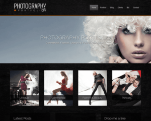 Fotografie WordPress Thema