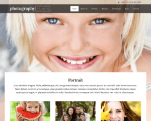 Fotografie studio WordPress Thema