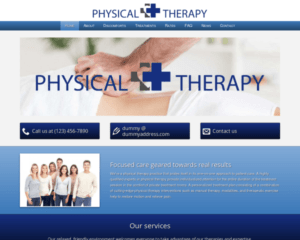 Fysiotherapie WordPress Thema