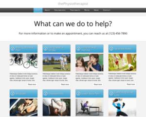 Fysiotherapeut WordPress Thema