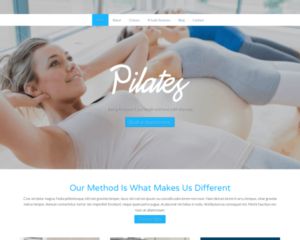 Pilates WordPress Thema