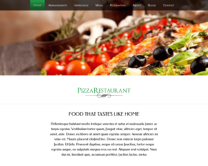 Pizza WordPress Thema